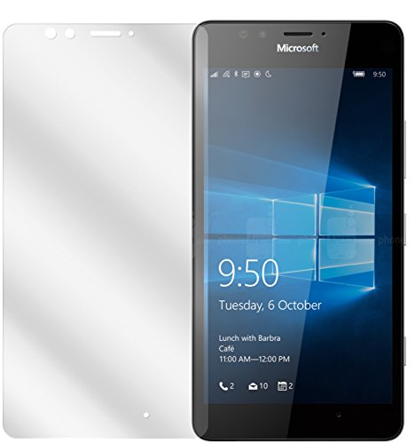 dipos I 6X Schutzfolie klar passend für Microsoft Lumia 950 Folie Bildschirmschutzfolie