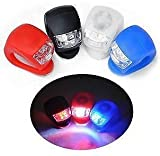 #7: NUMEX Ultra Bright Waterproof Silicon LED BIKE LIGHT SET - 2 LEDs Front + Rear Bicycle / Cycling Safety Warning Light