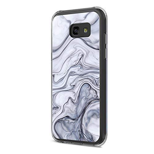 Samsung Galaxy A3/A5/A7 Hülle, Transparent Ultra Slim TPU 360 Grad Full-Body Stoßdämpfend Bumper Handytasche Anti-Scratch Handyhülle für Samsung A3/A5/A7 2017 (Samsung Galaxy A3 2017, ()