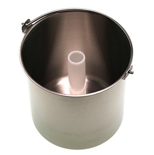 Unold 4880640 Edelstahl-Behälter für 48806 Eismaschine