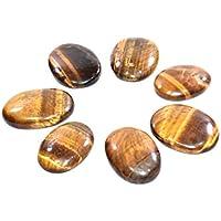 Worry - Tiger Eye Gemstone Stone Set Of 3 Chakra Healing Crystal, Meditation Stones, Yoga Crystals, Spirituality... preisvergleich bei billige-tabletten.eu
