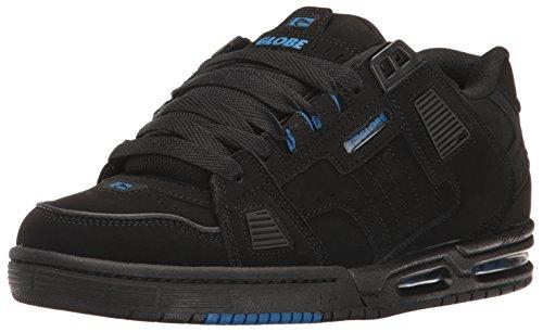 Globe Sabre - Scarpe Da Skateboard Unisex Adulto Black/Black/Blue