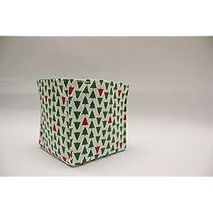 Geschenktasche - Utensilo Tannenbäume (S)