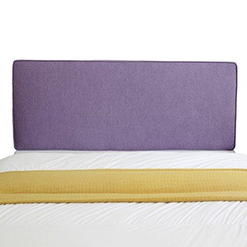 Uus Bett Kissen, Nordic Bett Soft Pack Wand Stoff abnehmbare waschbar Kissen lesen Rest zurück (mehrere Farben) Pillow (Farbe : E-No headboard, größe : 200cm) -