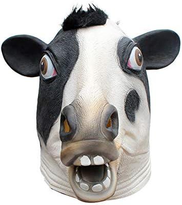 NFY Halloween Vache Vache Vache Masque Animal Latex Masque Convient Mascarade Mardi Gras Costume Fête 59bb2e