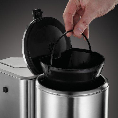 Russell Hobbs Allure Libera installazione Semi-automatica Macchina da caffè con filtro 1.25L 10tazze Acciaio inossidabile