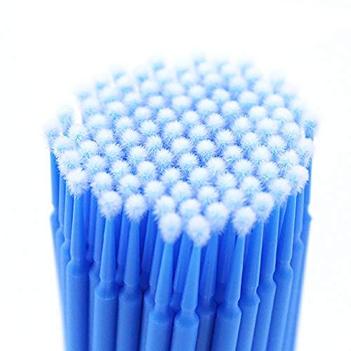 Baumwolle Make-up-Pinsel für 1 Cosmetic Kosmetiktasche (Farbe dargestellt) -