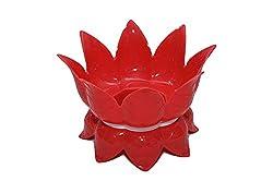 Multipurpose Lotus Shaped Water Pot / Matka Stand Holder cum Fruit Basket - 1 Pcs