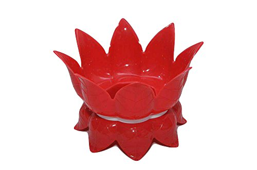Multipurpose Lotus Shaped Water Pot / Matka Stand Holder cum Fruit Basket - 1 Pcs - Assorted Colours