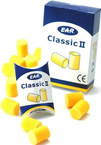 E-A-R® Classic - Gehörschutzstöpsel - Dämmwert = 28 dB , Taschenpackung zu 5 Paar