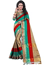 [Sponsored]Dhyey Fashion Designer Saree - B0799N8KK6