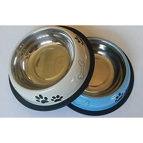 Schulz 21060 - Ciotola per cibo per cani/gatti, max. 21 cm, colorata