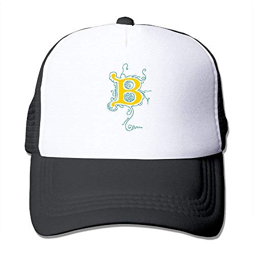 Summer Flexfit Trucker Mesh Cap, Letter B Fitted Hats Sports Baseball Caps - Notre-dame-fitted Cap
