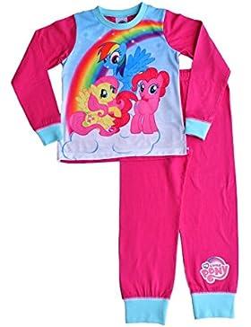ThePyjamaFactory - Pijama dos piezas - para niño rosa rosa 7-8 Años