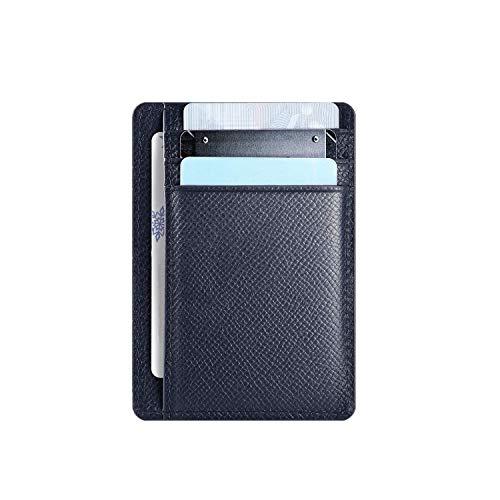 Hardwork Secret Porte Carte de Crédit Hommes, Portefeuille en Cuir, Porte-Monnaie, RFID Blocage,