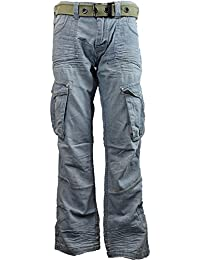 MENS NEW ETO BRAND EM8 COMBAT JEANS SOFT DENIM MATERIAL WITH FREE BELT FROM ONLY £6.99