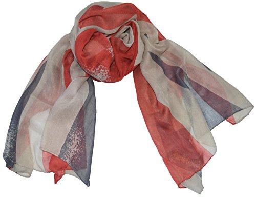 UK Flag Schal Stola England Flagge Fahne Großbritannien Schals Tuch Halstuch Halstücher Tücher Union Jack 160 Jack