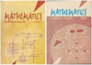 NCERT Mathematics Textbook for Class 12 - Part 1 & 2 - 12079 & 12080 (Set of