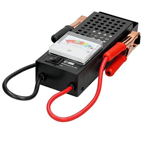 ECD Germany Tester per Batteria 6V/12 V 100 AMP Controllo Sistema Caricamento Auto