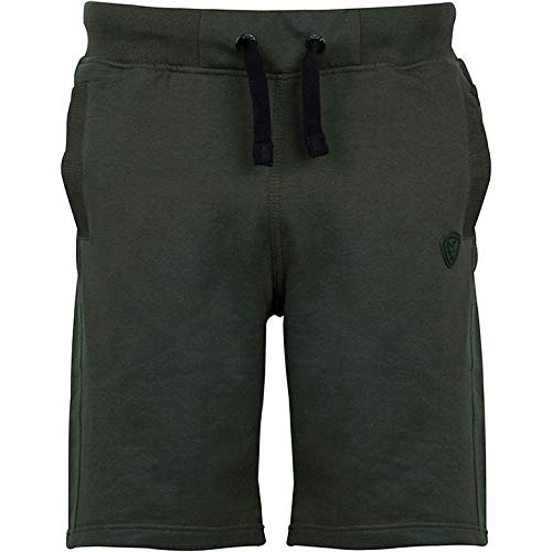 Fox Green Black Jogger Short - Angelhose, Angelshorts, Shorts für Angler, Kurze Hose zum Angeln, Anglerhose, Anglershorts, Größe:S