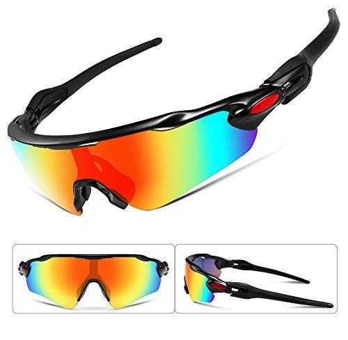 Feisedy occhiali da sole polarizzati sport occhiali lenti intercambiabili tr90 telaio ciclismo golf occhiali da golf b2280