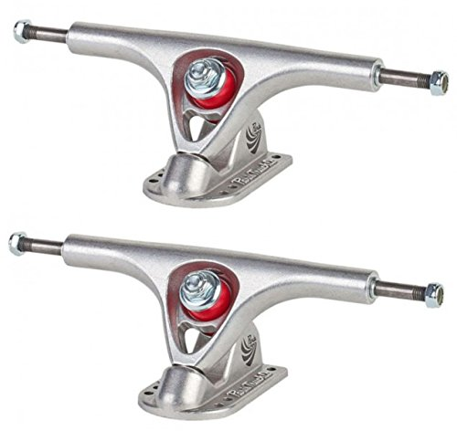 Paris Trucks Paris Longboard Skateboard Achsen V2 Set 180mm/50° Silver (2 Achsen) - Longboard Paris Trucks