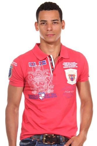 R-NEAL Poloshirt slim fit Rot