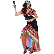 Atosa - Disfraz de gitana para mujer, talla M/L (10199)