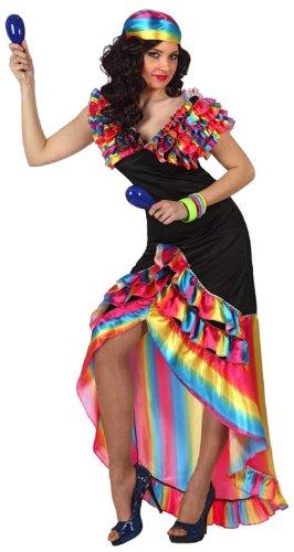 Rumba Tänzerinnen-Kostüm für Damen Einheitsgröße (Rumba Kostüm)