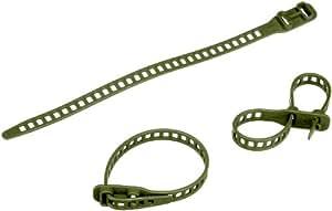 Schumm – ruban de fixation mou 11 x 260 mm, 10 pièces, vert