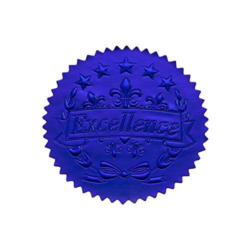 96Award Aufkleber-Blau Zertifikat Dichtungen, Excellence Star Aufkleber für Award ZERTIFIKATE