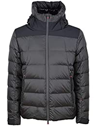 PEOPLE OF SHIBUYA - uomo AKI PM380 999 giacca piumino trapuntato nero -  27606-52 d5a4c5c2911