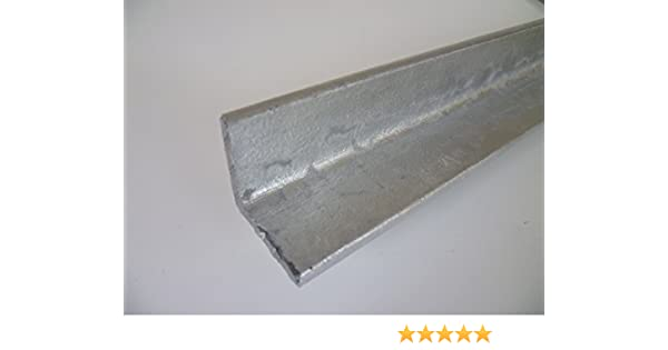 5mm S235 // 1.0038 ST37 B/&T Metall Stahl T-Profil VERZINKT 40 x 40 x 5 mm gleichschenklig in L/ängen /à 1000 mm T-Tr/äger T 40 feuerverzinkt