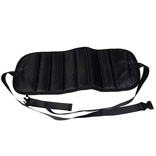 LXQ Tragbare Pedale, zusammenklappbare Fahrpedale Für Entspannung und Komfortables Tragen des Fußpedals Mit verstellbaren Büropedalen, um Schwellungen und Fußschmerzen vorzubeugen. Hängematte Schwarz -