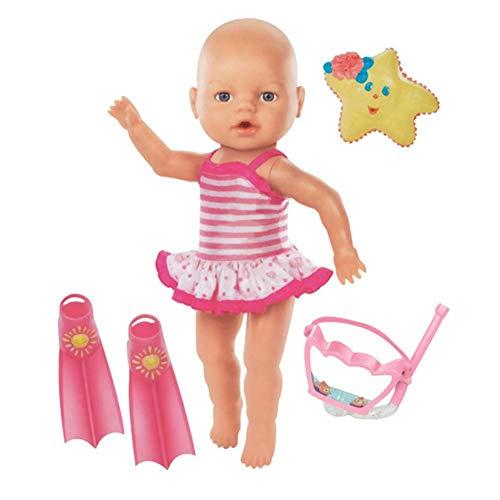 Luerme elektrische schwimmpuppe ich kann Schwimmen Baby badespielzeug wasserdicht niedlichen Puppen Mini Nicht essbare Ornament für hauptdekorationen Party Geburtstagsgeschenke
