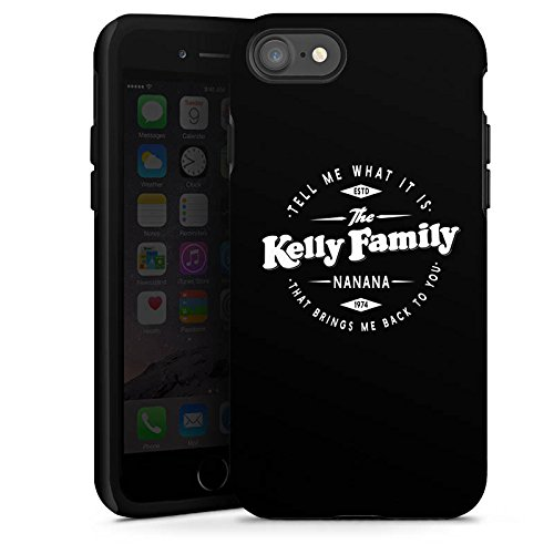 Apple iPhone 6 Silikon Hülle Case Schutzhülle The Kelly Family Nanana Merchandise Fanartikel Tough Case glänzend