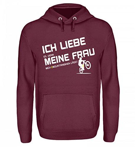 Hochwertiger Unisex Kapuzenpullover Hoodie - EBIKE und EMTB Shirt