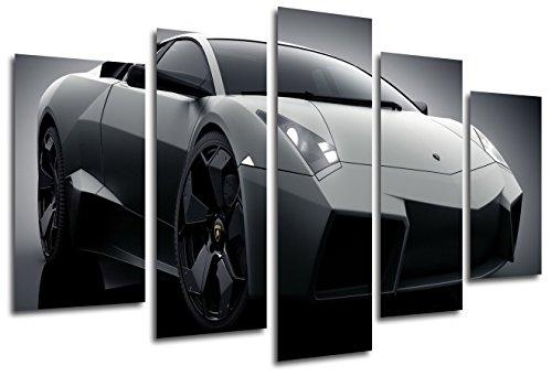 Quadro Moderno Fotografico Auto Lamborghini Reventon, 165 x 62 cm, rif. 26332