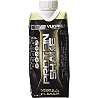 Vyomax Nutrition Vanilla Ready To Drink Protein Shakes 330ml Pack of 8