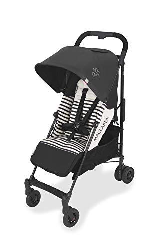 Passeggino maclaren quest arc - per neonati e fino a 25 kg. cappottina estensibile upf 50+/impermeabile, sedile reclinabile. compatibile con la culla portatile maclaren. accessori inclusi