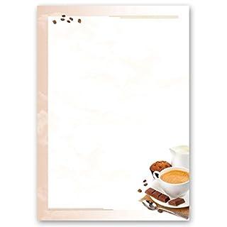 Motivpapier - Briefpapier KAFFEE MIT MILCH 50 Blatt DIN A4