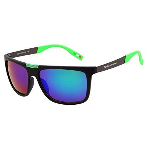 XXFFH Sonnenbrille Schatten Polarisierende Brille Wandte Sich Beine Und Bunte Beschichtung Sonnenbrillen, Vintage Sonnenbrillen , C1 Armani Vintage Sonnenbrille