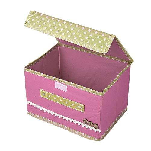 SHANSHAN X Aufbewahrungsbox Aufbewahrungsbox Für Kleidung 26 X 20 X 16CM Rosa Geeignet Für Damen