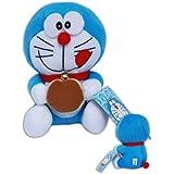 Gato Doraemon Sonrisa Peluche 20cm Muñeco Dibujos Animados Serie Manga TV Super Suave