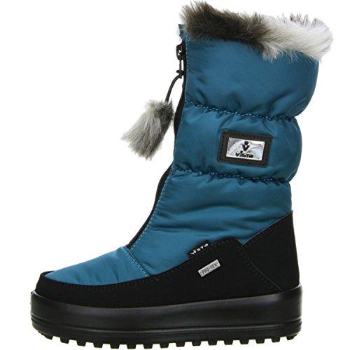 Vista Damen Mädchen Winterstiefel Snowboots türkis Türkis
