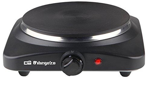 Orbegozo PE 2810 - Placa eléctrica, 1 quemadora, 1500 W