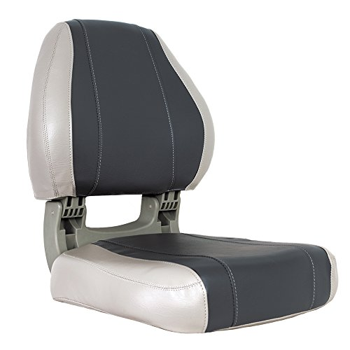 Oceansouth Sirocco Folding Boat Seat (Grey/Charcoal) -