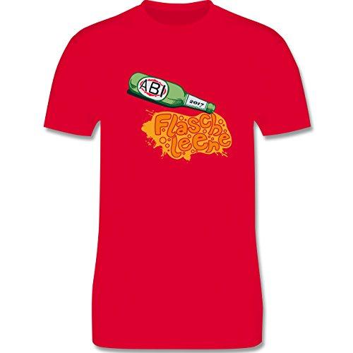 Abi & Abschluss - ABI 2017 Flasche leer - Herren Premium T-Shirt Rot