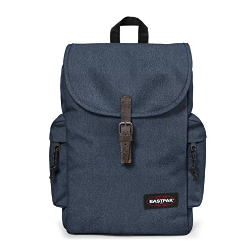 Eastpak Austin, Zaino Casual Unisex, Blu (Double Denim), 18 liters, Taglia Unica (42 centimeters)