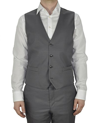 Michaelax-Fashion-Trade - Gilet - Uni - Sans Manche - Homme Grau (14)